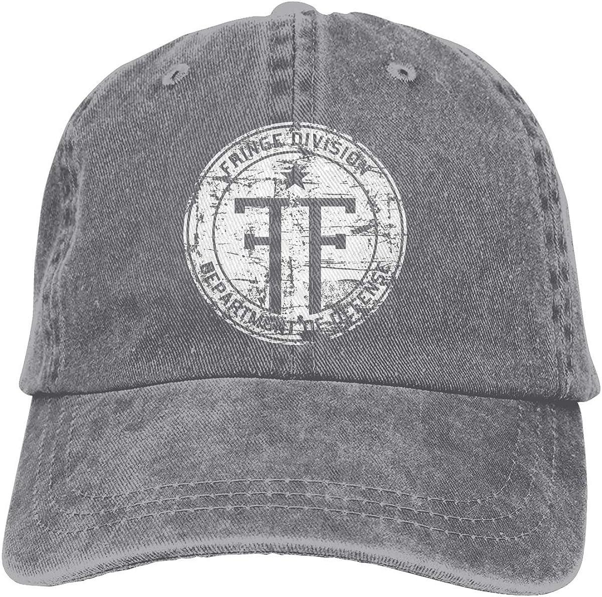 TBVS 77 Men Women Washed Yarn-Dyed Denim Baseball Cap Fringe Division Plain Cap