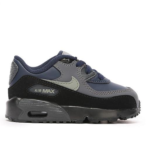 san francisco edac3 22cab NIKE Air Max 90 Leather (TD) - 833416406