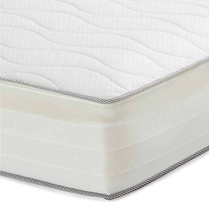 AmazonBasics - Colchón extra confort de muelles de 7 zonas, 150 x 200 cm: Amazon.es: Hogar