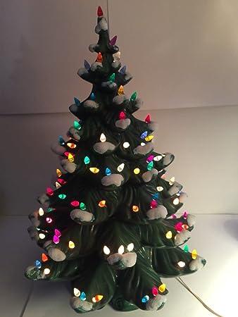 "Atlantic Mold Vintage Ceramic 24"" Christmas Tree Lighted Holiday Decor  ... - Amazon.com: Atlantic Mold Vintage Ceramic 24"