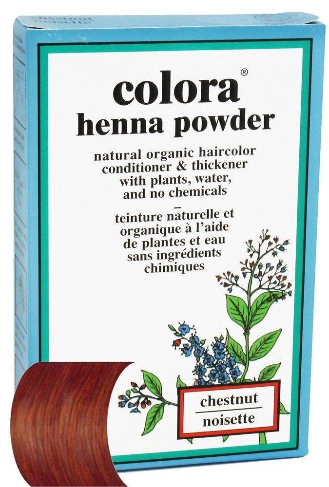 Colora Henna Powder, Chestnut, 60g H106