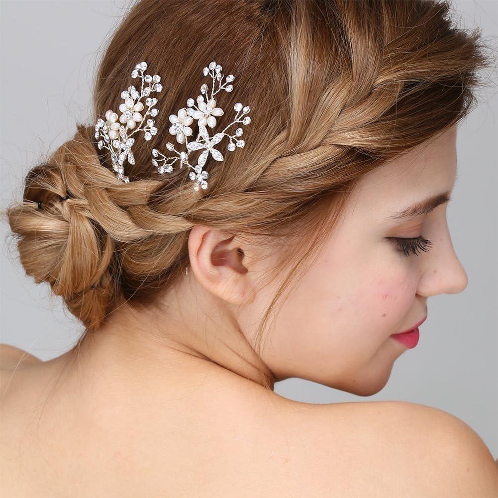Mai Yi 1920s Flapper Great Gatsby Kentucky Derby hat Bridal Pearl Headpiece