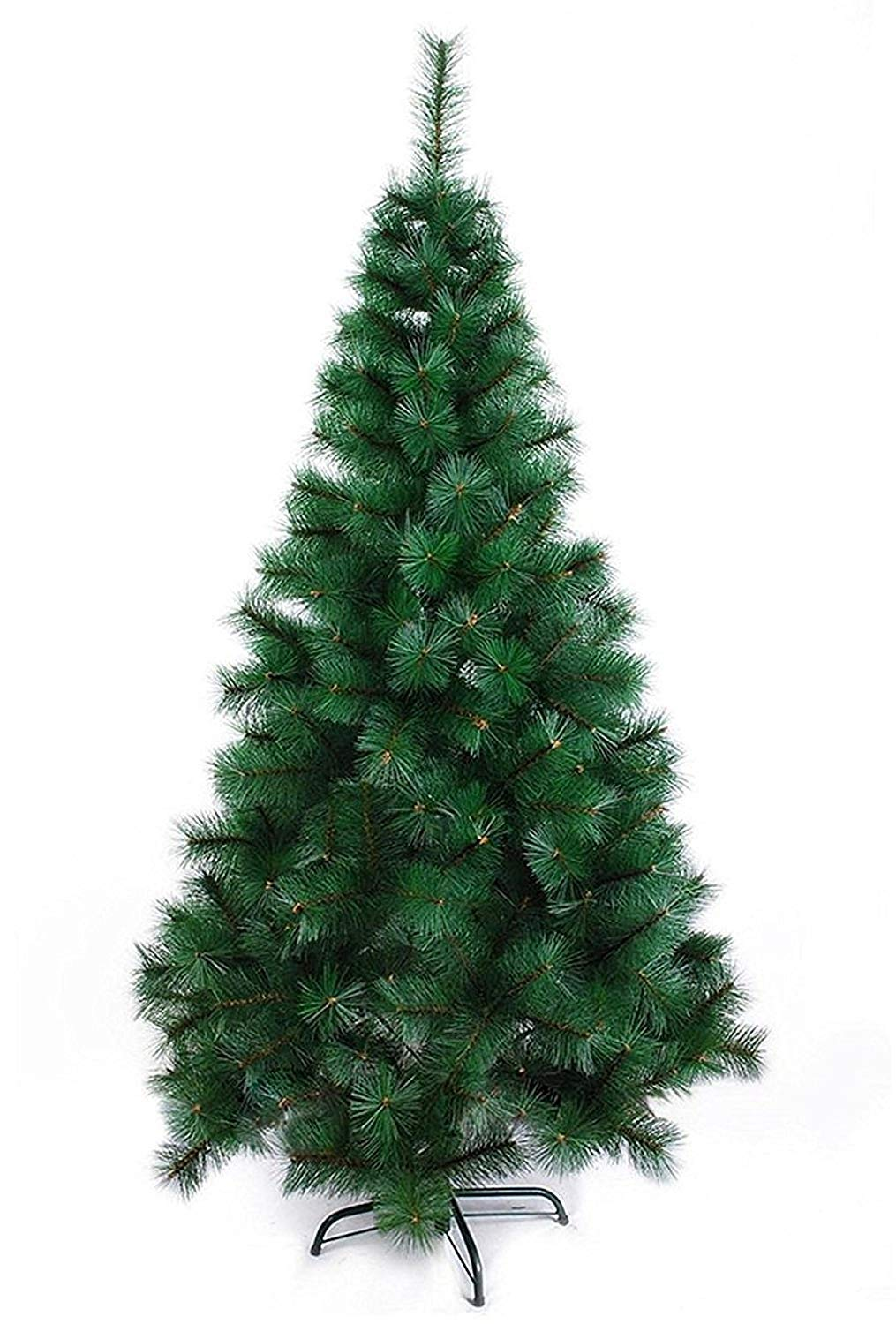 Buy Theme My Party Artificial 7ft Christmas Tree Xmas Pine Tree With Solid Metal Legs Light Weight Perfect For Christmas Decoration Green 7 Ft Online At Low Prices In India Amazon In