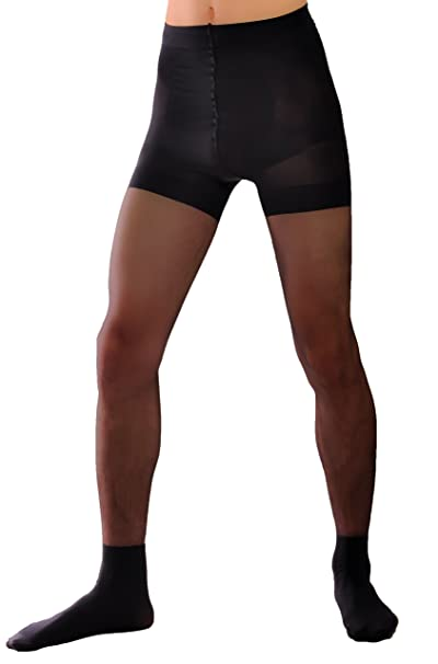 e9d3eeba98f77 Smart mens sheer pantyhose Knittex black, natural: Amazon.ca: Clothing &  Accessories