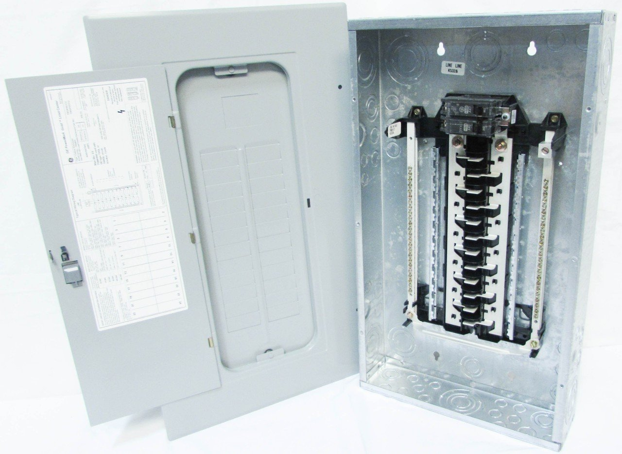 71EgozHyG6L._SL1280_ main breaker panel see inside main breaker box nib square d ge powermark gold load center wiring diagram at highcare.asia