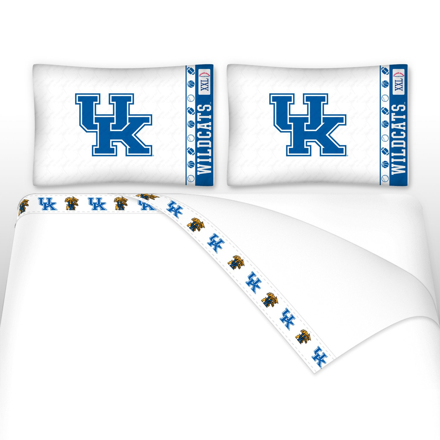 NCAA Kentucky Wildcats - 5pc BED IN A BAG - Queen Bedding Set by Store51 (Image #2)