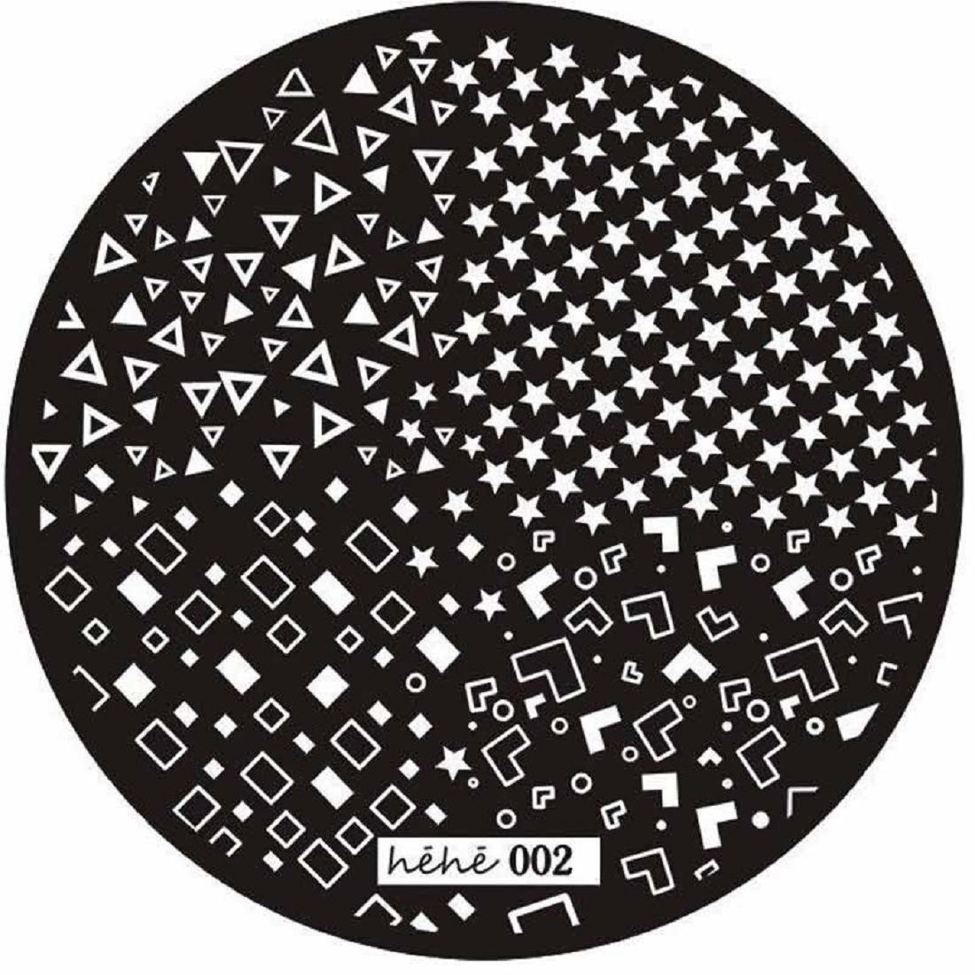 Coromose Pattern Nail Art Image Stamp Stamping Plates Manicure Template (D)
