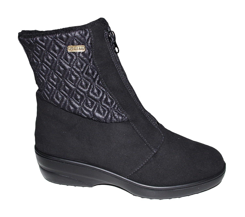 Florett Damen Stiefel Camilla 50412-60 schwarz Schwarz
