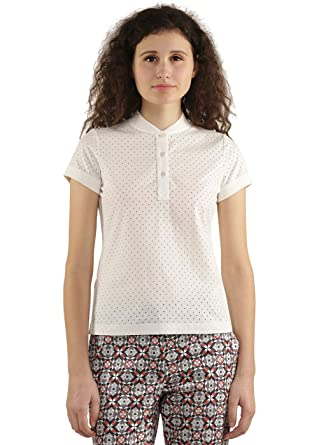 0de2d2597c45b6 GENES - Lecoanet Hemant Off-white Polo  Amazon.in  Clothing   Accessories
