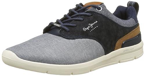 Pepe Jeans Jayden Fabric, Zapatillas Hombre: Amazon.es: Zapatos y complementos