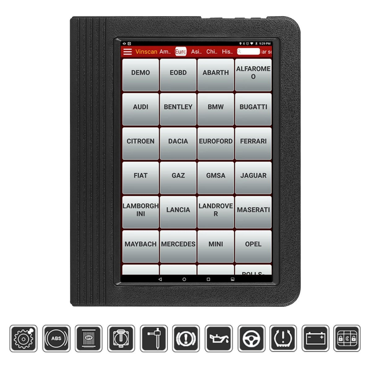 Launch X431 V+ is a Professional Car Diagnostic Tool made by Launch.
