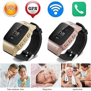 Nuevo de Alta Calidad D99. Reloj Inteligente Antipérdida, Mini Impermeable, wifi, smartwatch, GPS de Seguimiento Para Las Personas.: Amazon.es: Electrónica