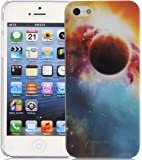 iPhone 5 Case - Outer Space Back Cover for iPhone 5 5s, Screen Protector Included