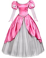 Angelaicos Womens Princess Dress Lolita Layered Party Costume Ball Gown