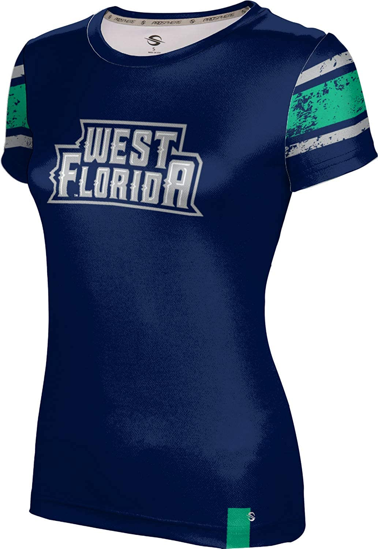 ProSphere University of West Florida Girls Performance T-Shirt End Zone
