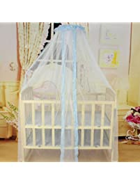 mosquito baby infant bedding bumpers round dome crib bed lace floor type mosquito