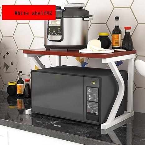 MDBYMX Horno microondas Estante de Cocina, Horno de ...