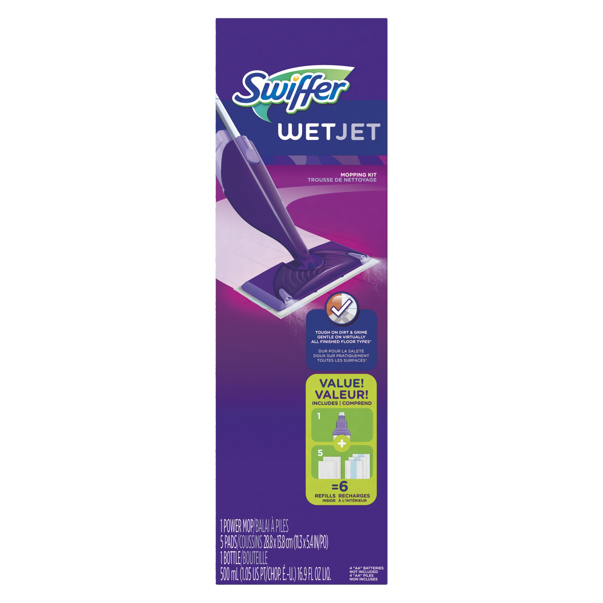 PGC92811CT - Swiffer WetJet Mop Starter Kit