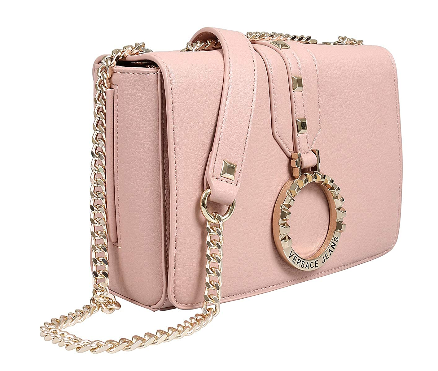 f1f8a3cc3380 Amazon.com: Versace EE1VTBBA5 E500 Light Pink Shoulder Bag for ...