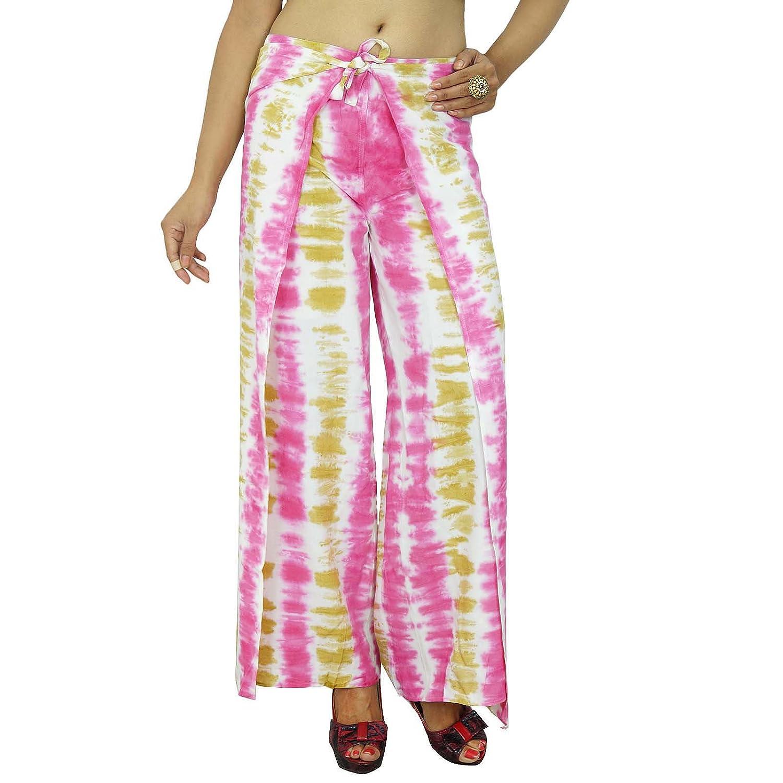 Viskose Krawatte und gefärbt Pyjamas Frauenhose Zigeuner Hosen Sommer-Hosen