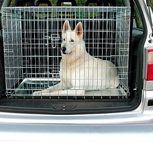 Jaula para perros TRIXIE transporte zincada [5 tamaños]: Amazon.es ...