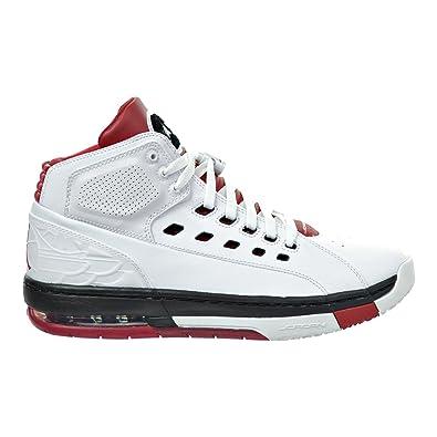 Jordan OL/'School White//Gym Red-Gym Red-Black 317223 112 Men Size/'s