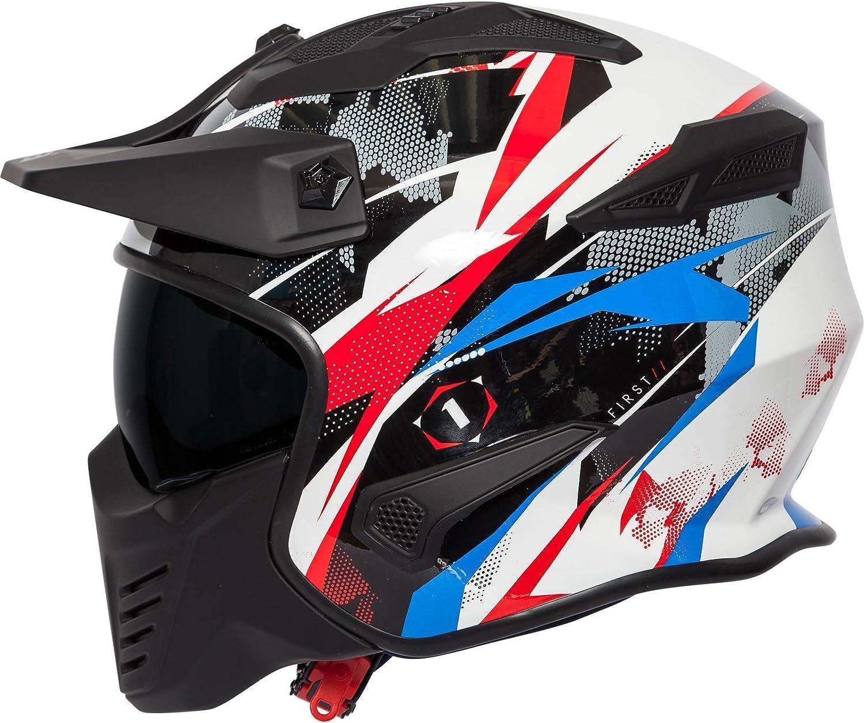 Spada Storm Graphic Open Face Motorcycle Helmet