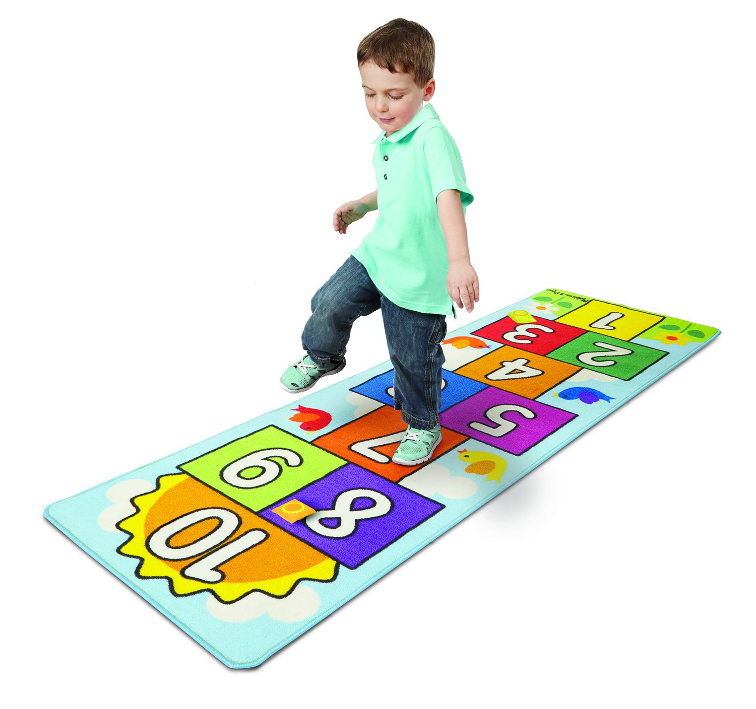 hop scotch mat active play toys