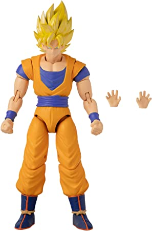 Dragón Bola Súper Stars Serie Súper Saiyan Goku Figura Bandai