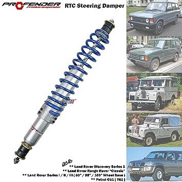 profender Dirección Estabilizador Amortiguador para Land Rover Discovery serie 1 Range Rover Classis Land Rover serie ...