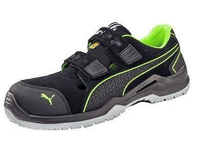 f18780ee4bc7b Puma Basket de sécurité Neodyme Green Low S1P ESD SRC: Amazon.fr:  Chaussures et Sacs