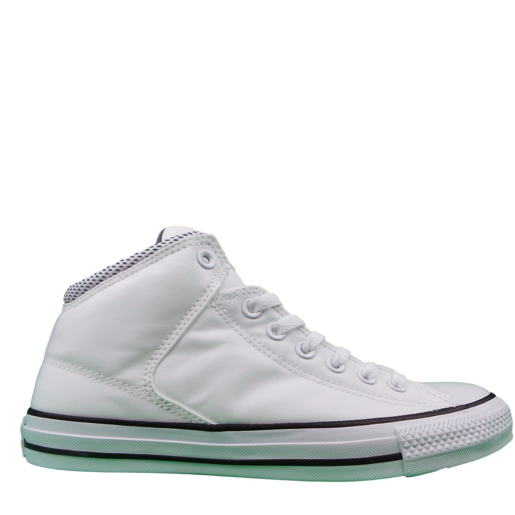 38ee3a17fd76 Galleon - Converse Mens Chuck Taylor High Street Hi White Black Thunder  Sneaker - 11 Men - 13 Women