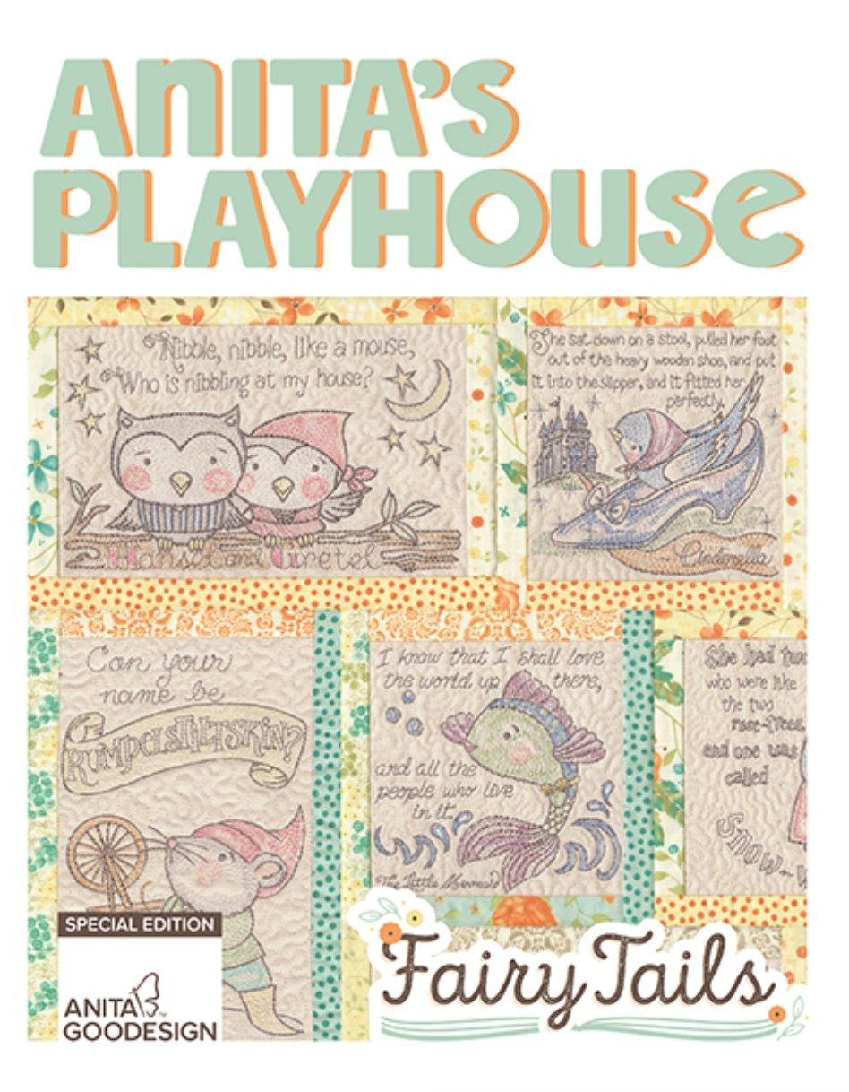 Amazon.com: Anita Goodesign Embroidery Designs - Fairy Tails ...