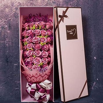 Amazon.com: Liuxina - Ramo de rosas de imitación de 33 ramos ...