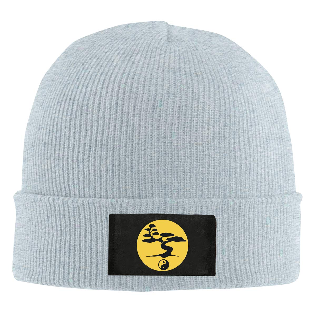 Men Women Yin Yang Bonsai Tree Skull Hat Beanie Cap Winter Knit Hat Cap