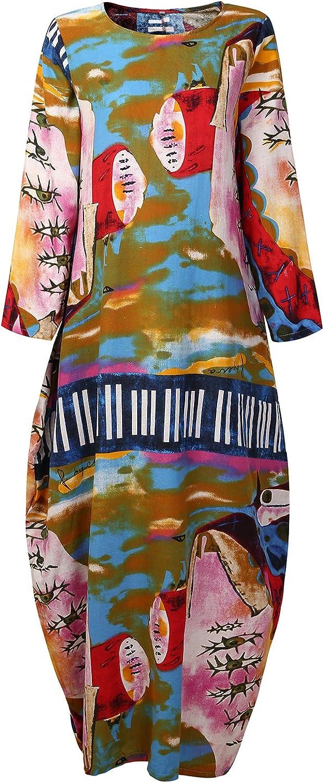 Women/'s linen cotton maxi dress long sleeves splice caftan Bridesmaid dress plus size clothing linen kaftan gowns dresses wedding dress B17