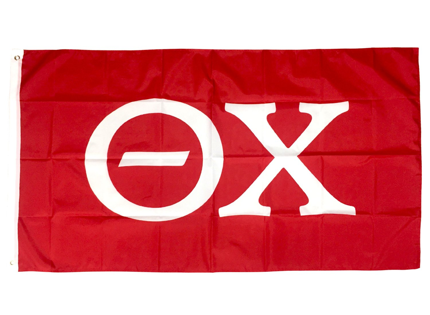 Theta Chi Letter Fraternity Flag Greek Letter Use as a Banner 3 x 5 Feet Sign Decor T Chi by Desert Cactus