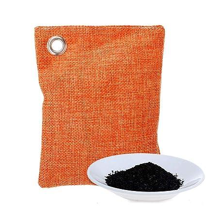 TAOtTAO Ambientador de carbón Activado de bambú para Coche, Desodorante de Olor, A,