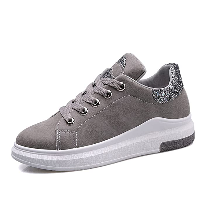 Amazon.com | Feilongzaitianba Women Arrival Sneakers Soft Comfort Casual Shoes Lady Shoes Flats Female Bling Shoes | Shoes