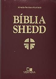 Bíblia Shedd - Capa Covertex Bordô