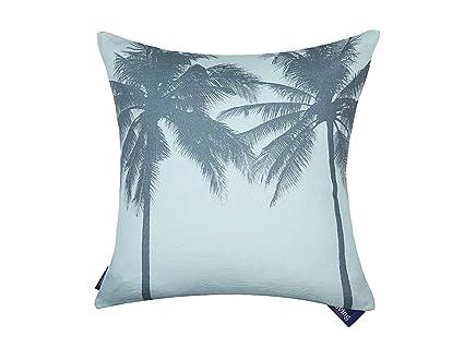 Palmera playa decorativa Funda de almohada cojín árbol de ...