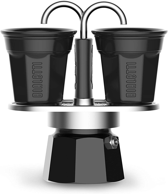 Bialetti Mini Express Color - Juego de cafetera de 2 tazas + 2 ...