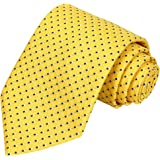 KissTies Mens Extra Long Tie Checkered Plaid Necktie + Gift Box (63'' XL)