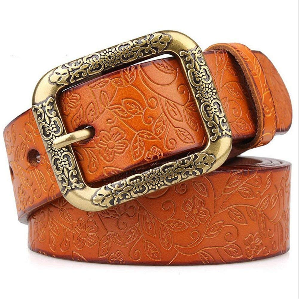 Styhatbag Cinturón de Mujer para Mujer Cinturones de Cuero Anchos de la  Vendimia de Las señoras Cinturones Anchos Estudiantes para Pantalones Jeans  Cinturón ... 25eda3faa589