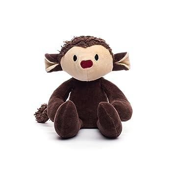 Amazon Com Bears For Humanity Organic Monkey Animal Pals Plush Toy