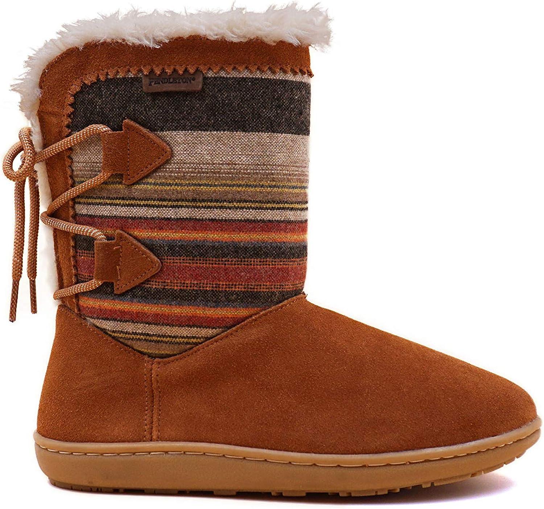 Pendleton Women's Hacienda Slipper Boot Suede Wool