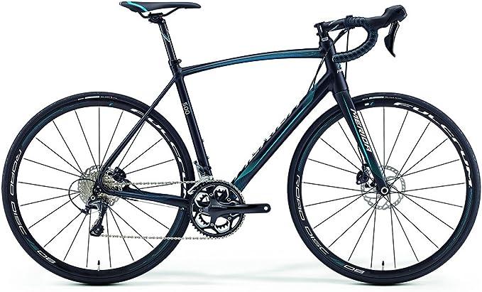 Merida Ride 500 Disc 28 pulgadas bicicleta negro/azul (2016): Amazon.es: Deportes y aire libre
