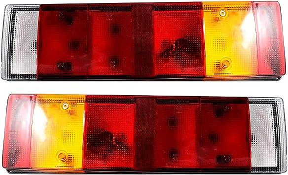 Rückleuchten Rückfahrlicht Heckleuchten Rücklicht 12v 24v Lkw Pkw Anhänger Pritsche E Prufzeichen Auto