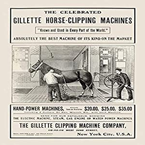 "Buyenlarge The Celebrated Gillette Horse-Clipping Machines - 8"" X 12"" Fine Art Giclee Print"