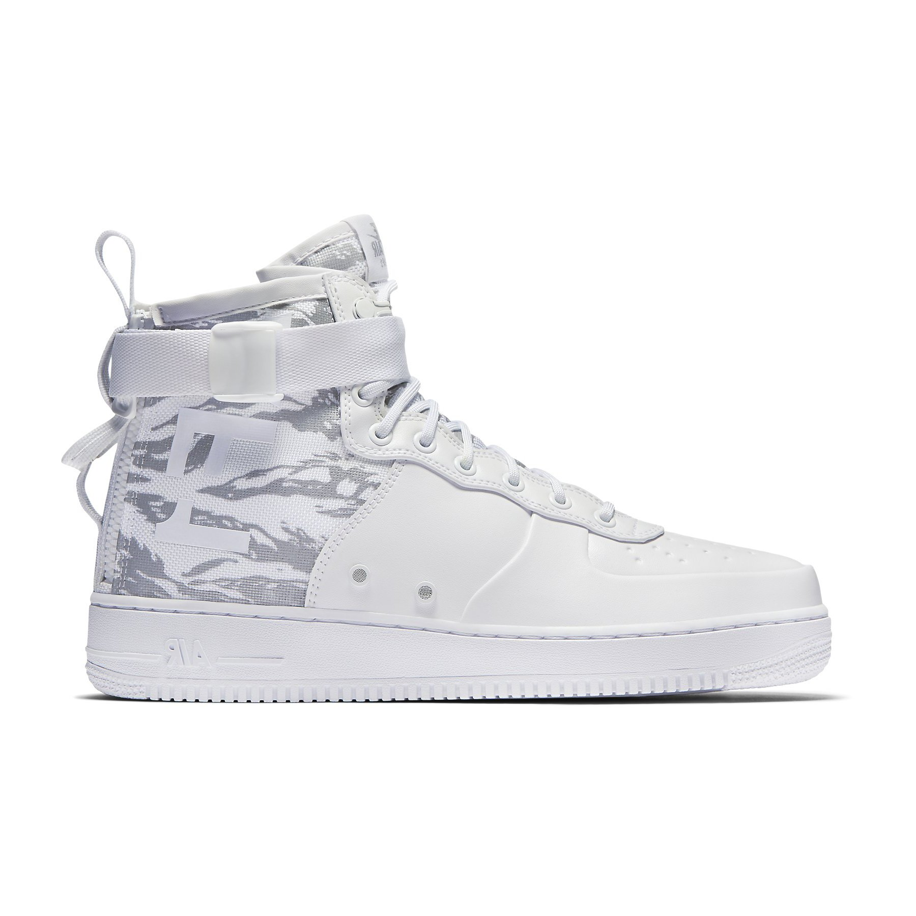 83c3223704 Galleon - NIKE Mens SF Air Force 1 Winter Mid Premium Shoes White White  AA1129-100 Size 9.5